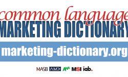 Common Language Marketing Dictionary