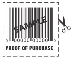 barcode proof of purchase
