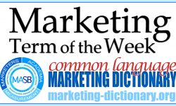 MASB Marketing Term of the Week
