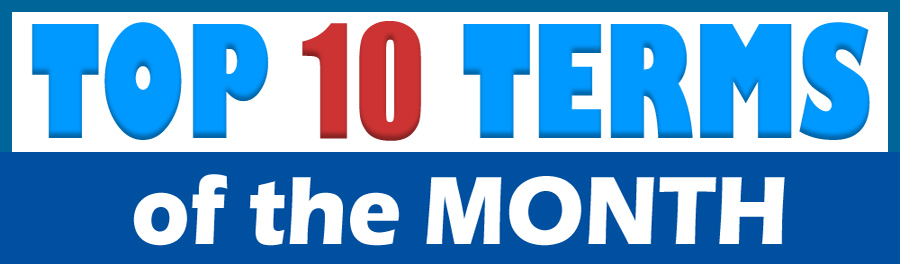 Top 10 Terms of the Month