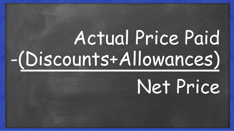 net price